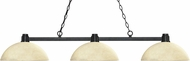 Z-Lite 314BRZ-DGM14 Park Bronze Dome Golden Mottle Kitchen Island Lighting