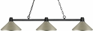 Z-Lite 314BRZ-MAS Park Bronze Antique Silver Kitchen Island Light Fixture