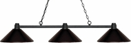 Z-Lite 314BRZ-MBRZ Park Bronze Bronze Kitchen Island Lighting