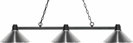 Z-Lite 314BRZ-MCH Park Bronze Chrome Kitchen Island Light