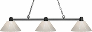 Z-Lite 314BRZ-PWH Park Bronze White Island Lighting