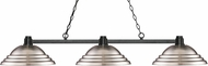 Z-Lite 314BRZ-SBN Park Bronze Stepped Brushed Nickel Kitchen Island Lighting