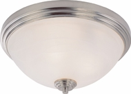 Z-Lite 314F3-BN Chelsey Brushed Nickel 6.5  Tall Overhead Lighting