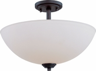Z-Lite 314SF-BRZ Chelsey Dark Bronze 15.75  Wide Home Ceiling Lighting