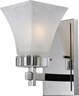 Z-Lite 319-1S Pershing Polished Nickel 8.75  Tall Wall Light Sconce