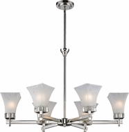 Z-Lite 319-6 Pershing Polished Nickel 66.5 Tall Ceiling Chandelier