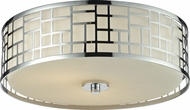 Z-Lite 328F16-CH Elea Chrome16.25  Wide Ceiling Light