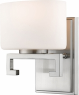 Z-Lite 335-1S-BN-LED Privet Modern Brushed Nickel LED Lamp Sconce