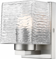 Z-Lite 336-1S-BN-LED Barrett Modern Brushed Nickel LED Wall Light Fixture