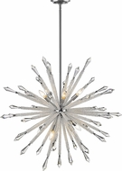 Z-Lite 4002-10 Soleia Chrome 39  Chandelier Light