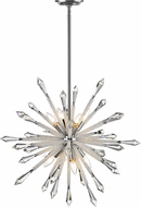 Z-Lite 4002-8 Soleia Chrome 26.5  Lighting Chandelier
