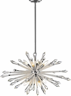 Z-Lite 4002-8B Soleia Chrome Chandelier Lamp