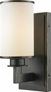 Z-Lite 413-1S Savannah Olde Bronze 4.5  Wide Light Sconce
