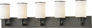 Z-Lite 413-5V Savannah Olde Bronze 10.125  Tall 5-Light Bath Lighting