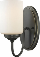 Z-Lite 414-1S Cardinal Olde Bronze 9.25  Tall Lighting Sconce