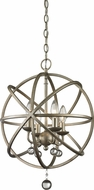 Z-Lite 415-16 Acadia Antique Silver 21  Tall Hanging Pendant Lighting