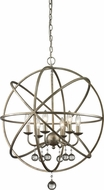 Z-Lite 415-24 Acadia Antique Silver 29.5  Tall Pendant Hanging Light