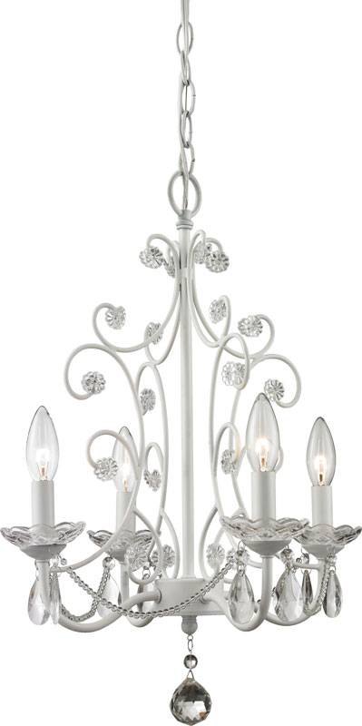 Z lite 419wh princess chandeliers traditional gloss white 15375 z lite 419wh princess chandeliers traditional gloss white 15375nbsp wide mini chandelier lighting loading zoom aloadofball Image collections