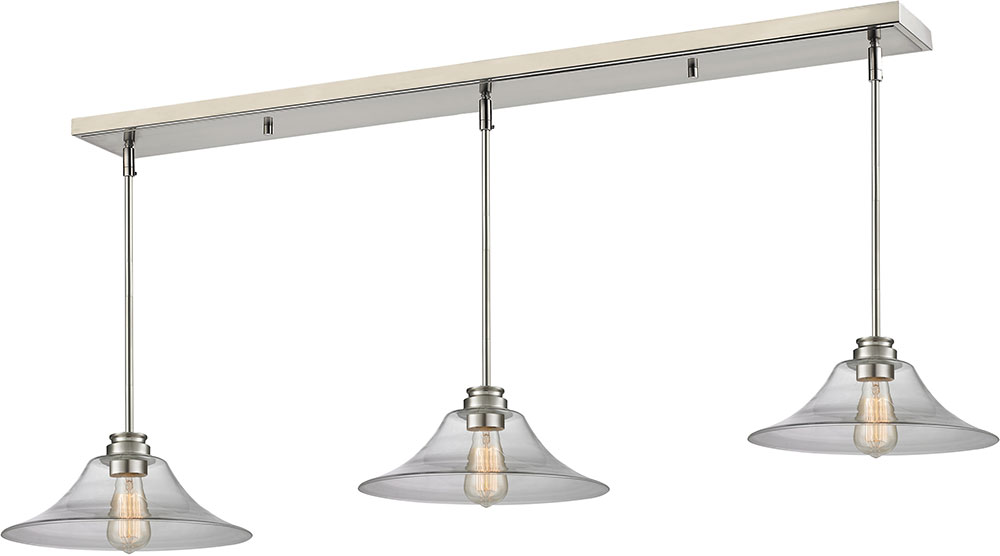 Z lite 428mp14 3bn annora brushed nickel clear multi pendant lamp z lite 428mp14 3bn annora brushed nickel clear multi pendant lamp loading zoom aloadofball Images