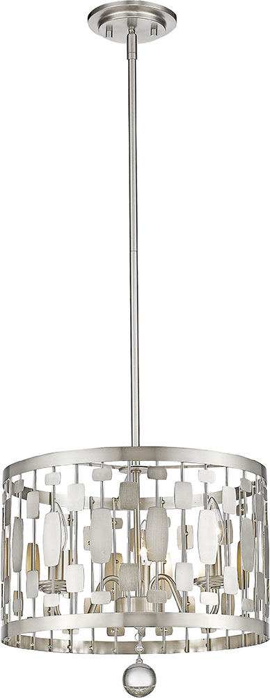 zlite 430d15bn almet brushed nickel 3light hanging light fixture loading zoom
