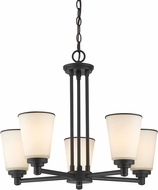 Z-Lite 432-5BRZ Jarra Bronze 5-Light Chandelier Light