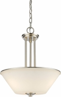 Z-Lite 432P-BN Jarra Brushed Nickel Hanging Light