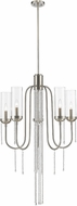 Z-Lite 433-5BN Siena Modern Brushed Nickel Chandelier Lighting