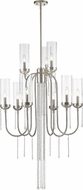 Z-Lite 433-9BN Siena Contemporary Brushed Nickel Lighting Chandelier