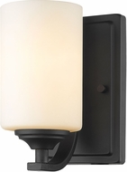 Z-Lite 435-1S-BRZ Bordeaux Bronze Wall Mounted Lamp