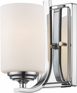 Z-Lite 435-1S-CH Bordeaux Chrome Lighting Sconce