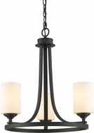 Z-Lite 435-3BRZ Bordeaux Bronze Mini Chandelier Light