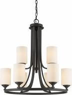 Z-Lite 435-9BRZ Bordeaux Bronze Chandelier Lighting