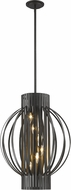 Z-Lite 436-20BRZ Moundou Contemporary Bronze 20  Ceiling Pendant Light