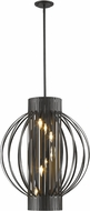 Z-Lite 436-24BRZ Moundou Modern Bronze 24  Drop Ceiling Light Fixture