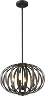 Z-Lite 438-16BRZ Moundou Contemporary Bronze 15  Pendant Lighting