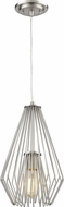 Z-Lite 442MP-BN Quintus Modern Brushed Nickel Mini Pendant Hanging Light