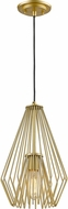 Z-Lite 442MP-MG Quintus Contemporary Metallic Gold Mini Drop Ceiling Lighting