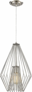 Z-Lite 442MP12-BN Quintus Contemporary Brushed Nickel Hanging Light