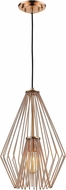 Z-Lite 442MP12-CR Quintus Modern Copper Pendant Light Fixture