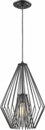 Z-Lite 442MP12-MB Quintus Contemporary Matte Black Pendant Lighting Fixture