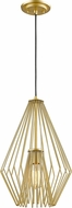 Z-Lite 442MP12-MG Quintus Modern Metallic Gold Hanging Pendant Lighting