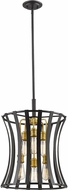 Z-Lite 446-18BZGD Geist Modern Bronze Gold Pendant Lighting