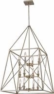 Z-Lite 447-12AS Tressle Modern Antique Silver 24  Foyer Lighting