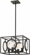 Z-Lite 448-16OB Port Contemporary Olde Bronze 18  Pendant Lighting Fixture