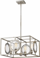 Z-Lite 448-20AS Port Modern Antique Silver 22  Hanging Pendant Lighting