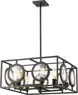 Z-Lite 448-24OB Port Contemporary Olde Bronze 26  Hanging Light Fixture