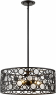 Z-Lite 450-20BRZ Ariell Modern Bronze 20  Drum Drop Ceiling Light Fixture