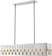 Z-Lite 453-43CH Oberon Chrome Island Lighting