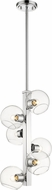 Z-Lite 455-6CH Marquee Contemporary Chrome Drop Ceiling Lighting