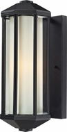 Z-Lite 525-BK Cylex Black 15.8  Tall Outdoor Lamp Sconce